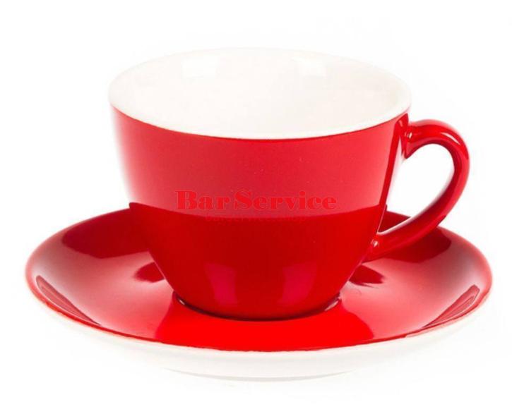 Чайная пара 200 мл красный цвет Barista P.L. в Омске
