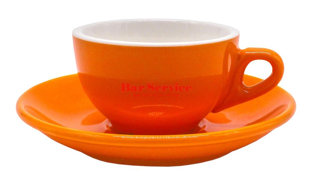 Чайная пара 180 мл оранжевый цвет Barista P.L. в Омске