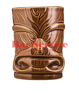 "Стакан д/коктейлей ""Тики"";керамика 450мл, коричневый. в Омске"