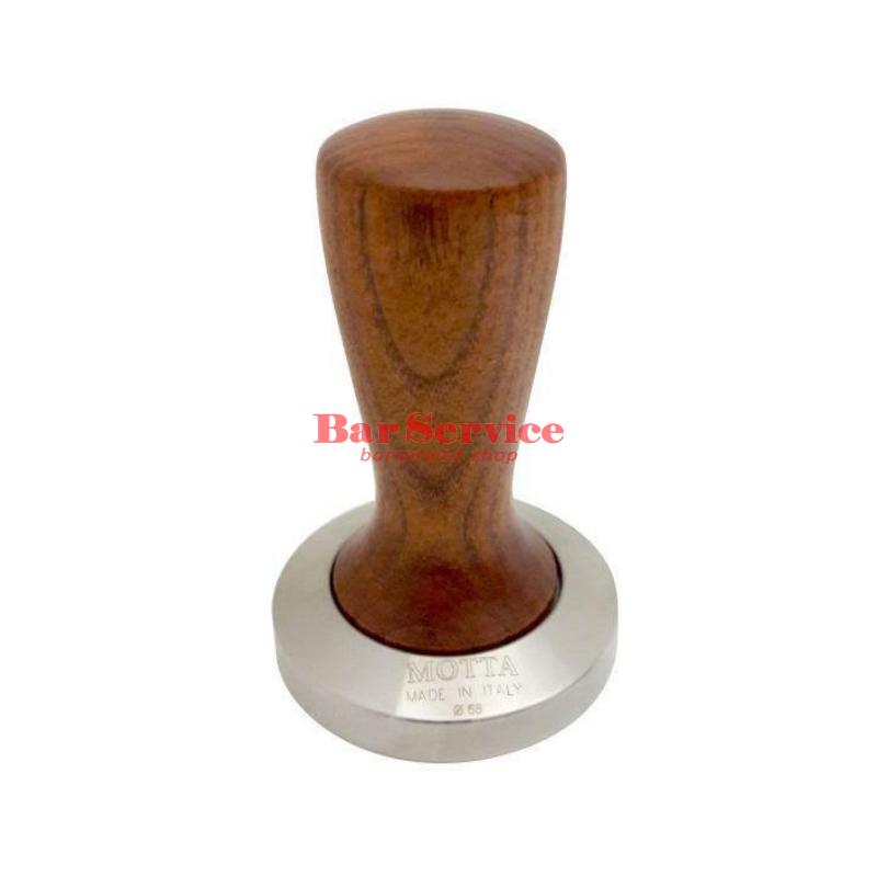 Темпер Мотта SLIM 58 мм. (плоский) рукоятка из дерева в Омске