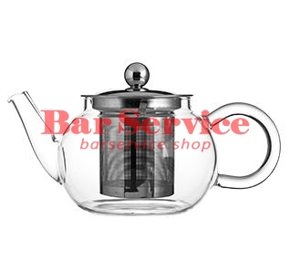 Чайник «Проотель»;  термост.стекло;  0,6л;  D=78мм в Омске