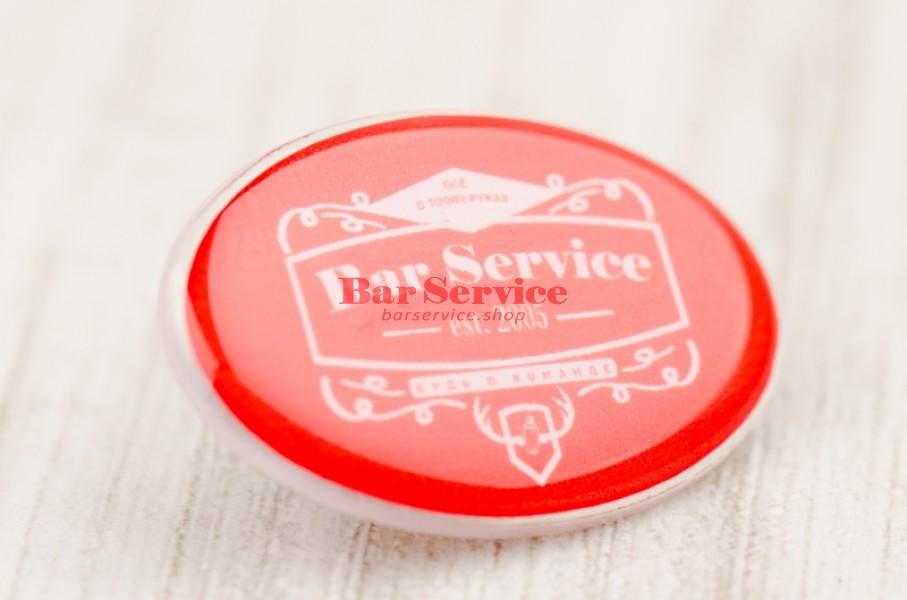 Значок Bar Service в Омске