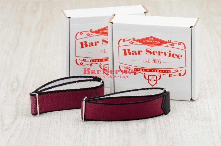 Армбенды, цвет бордо. Bar Service в Омске