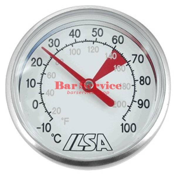 Термометр д/молока; сталь; D=45,L=138/125,B=55мм; металлич. в Омске