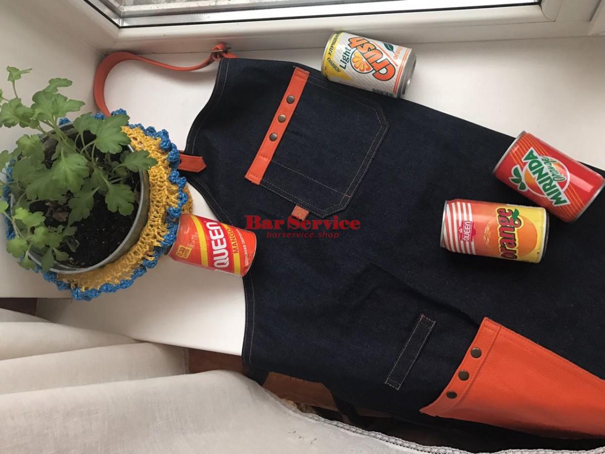 "Фартук барменский ""апельсин"" в Омске"