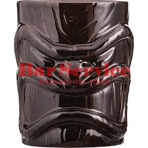 Стакан д/коктейлей «Тики», керамика; 450мл; коричнев. в Омске
