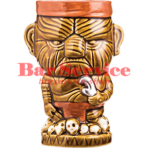 Стакан д/коктейлей «Тики» керамика; 450мл; коричнев. (01170825) в Омске