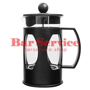 Чайник-кофейник Черный Объем: 600 мл. (френч пресс) в Омске