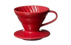Hario VDC-02R. Воронка керамическая красная. 1-4 чашки в Омске right