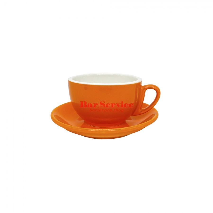 Чайная пара 270 мл; оранжевый цвет; Barista P.L. в Омске