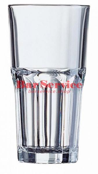 Хайбол «Гранити»;  стекло;  350мл;  D=85,H=120мм;  прозр. в Омске